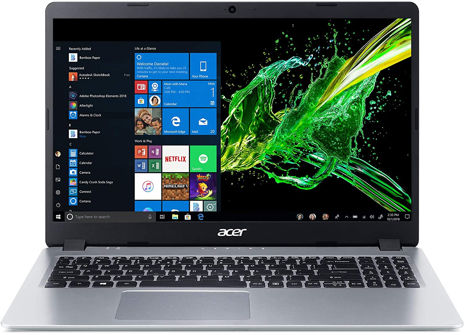 Acer aspire 1 best laptop for computer science students