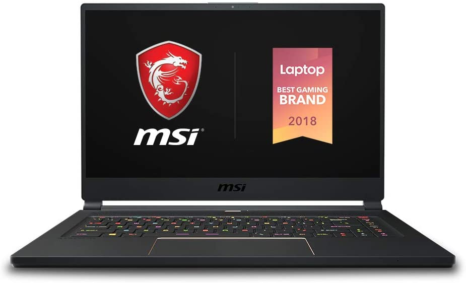 MSI GS65 Stealth 1 best budget laptop for photoshop & graphic Design