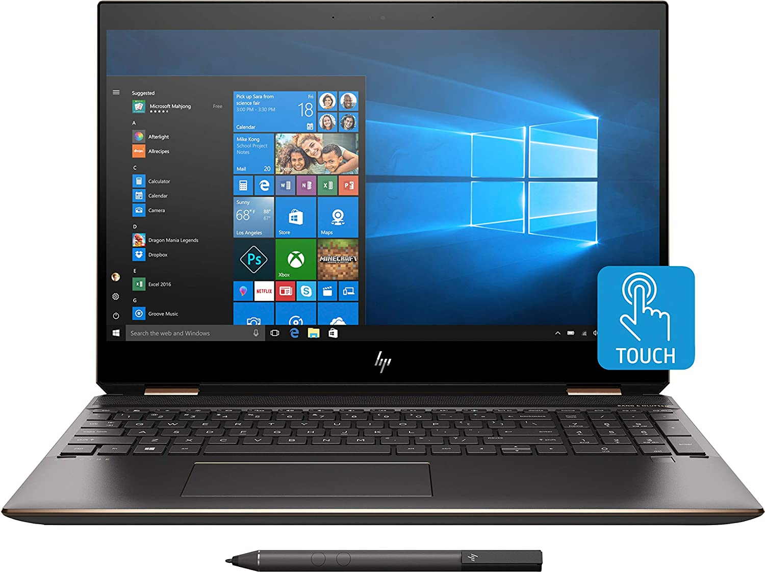HP - Spectre x360 2-in-1 Laptop- Best Laptop for Day Trading